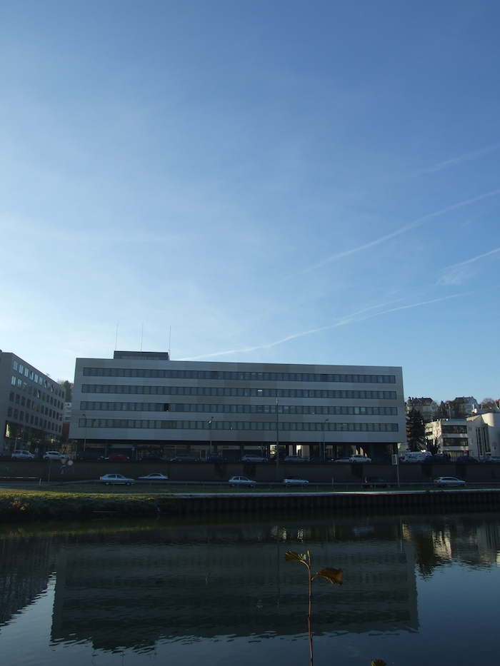 Bauleitung fassade Aluverbund Ansicht
