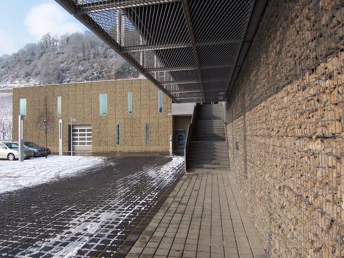 Gabionen Wand Streckmetall