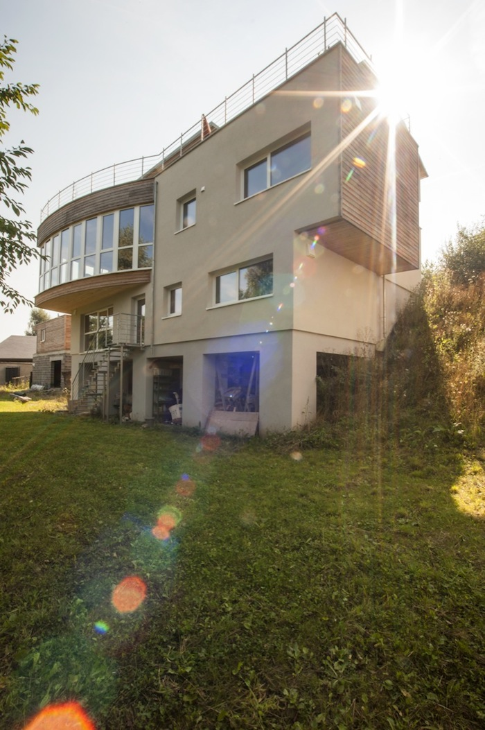 Massivholz Haus Luxembourg