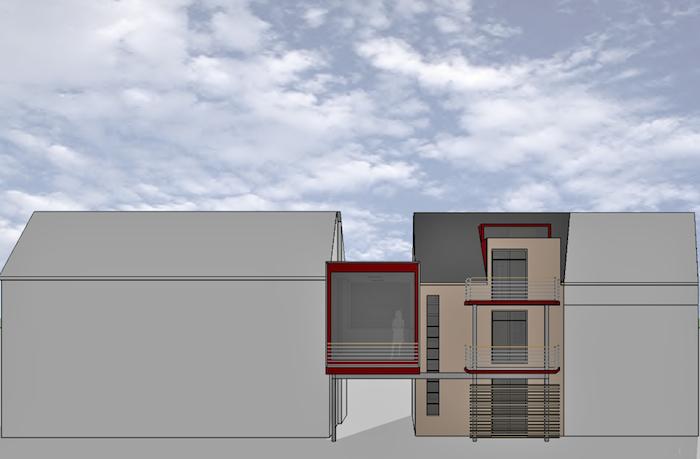 Umbau Garage und Zwischenbau